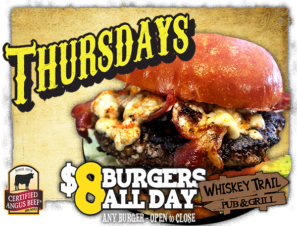Whiskey Trail Burger Night